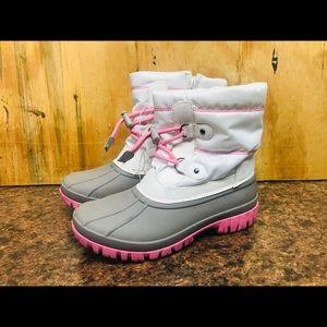 Cat & Jack Winter Snow Boots Girls Size 4